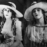 Young Idris idolized silent film actress Mary Pickford, and even copied her manner of dress. Mary (L) age 30. Idris (R) age 14.