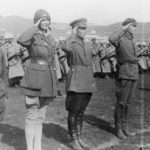 Aloha is made an honourary Colonel in the Nihinsky Regiment of the Soviet Army - 1924.